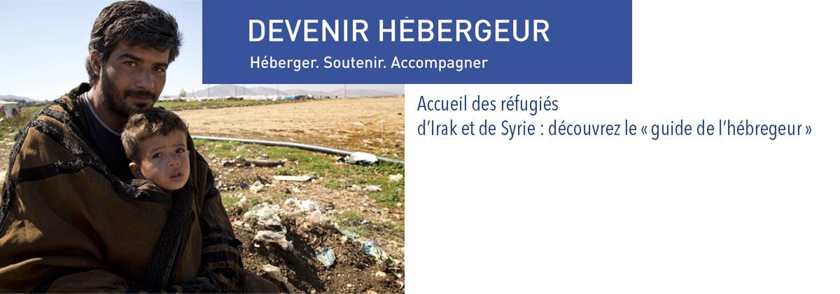 Accueil des réfugiés d'Irak et de Syrie