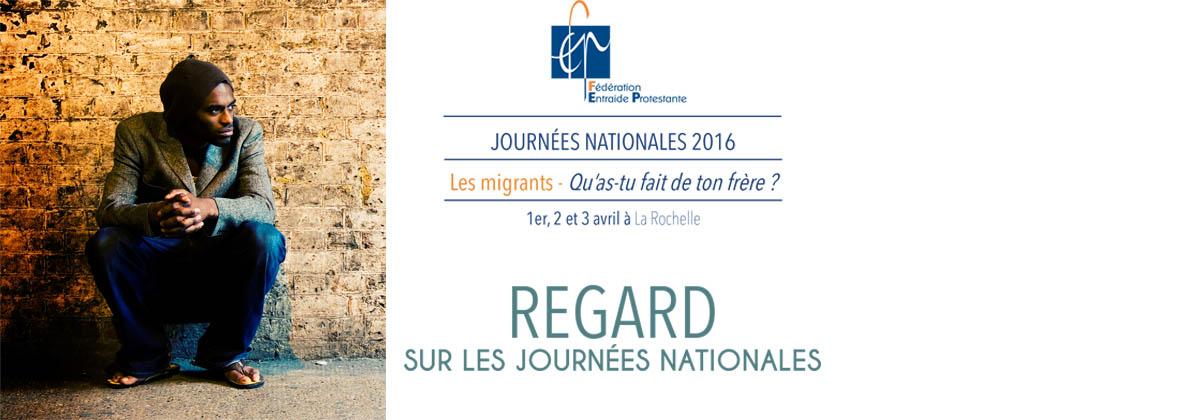 Regard sur les Journées Nationales 2016