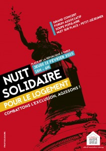 NUIT SOLIDAIRE AFFICHE