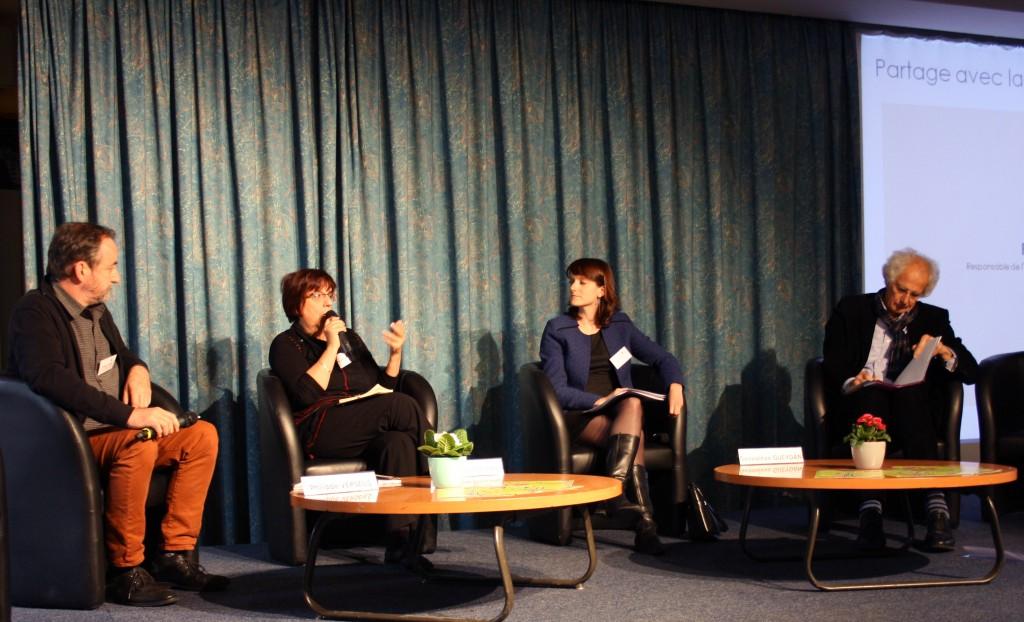 Interventions de M-H. Boucand, L. Burgade et A.Villez, lors des Journées Nationales 2015 de la FEP
