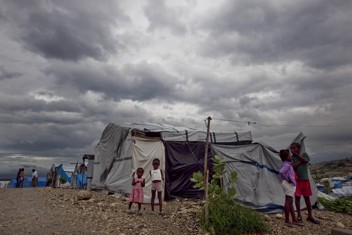 Hurricane Tomas passed most of Haiti Friday failing to bring about the heavy damage predicted. While some areas experienced flooding, heavy rains and wind, most areas escaped with little to no damage. Photo Logan Abassi UN/MINUSTAH