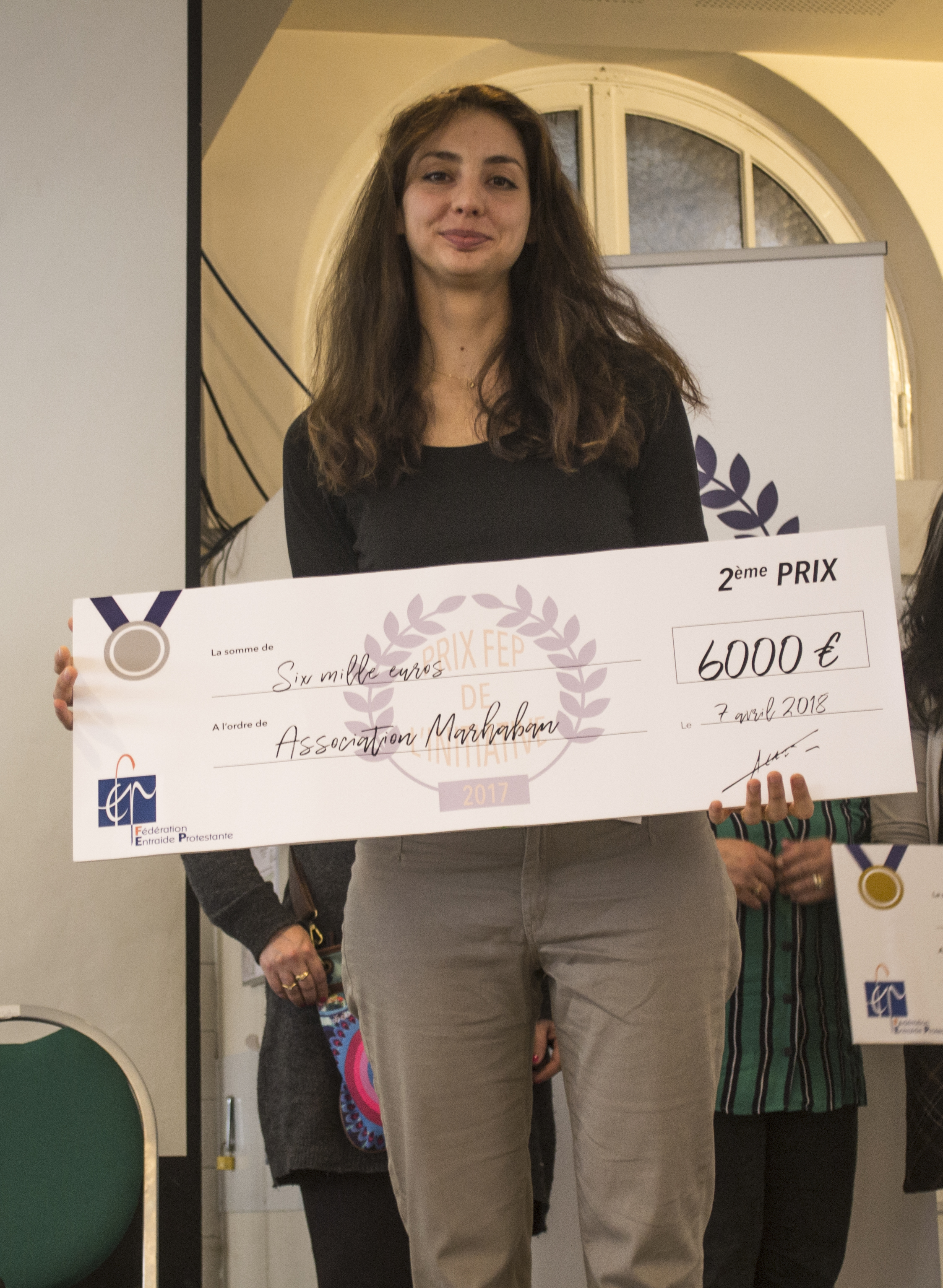 Prix de l'initiative 2017, 2nd prix pour l'association Marhaban