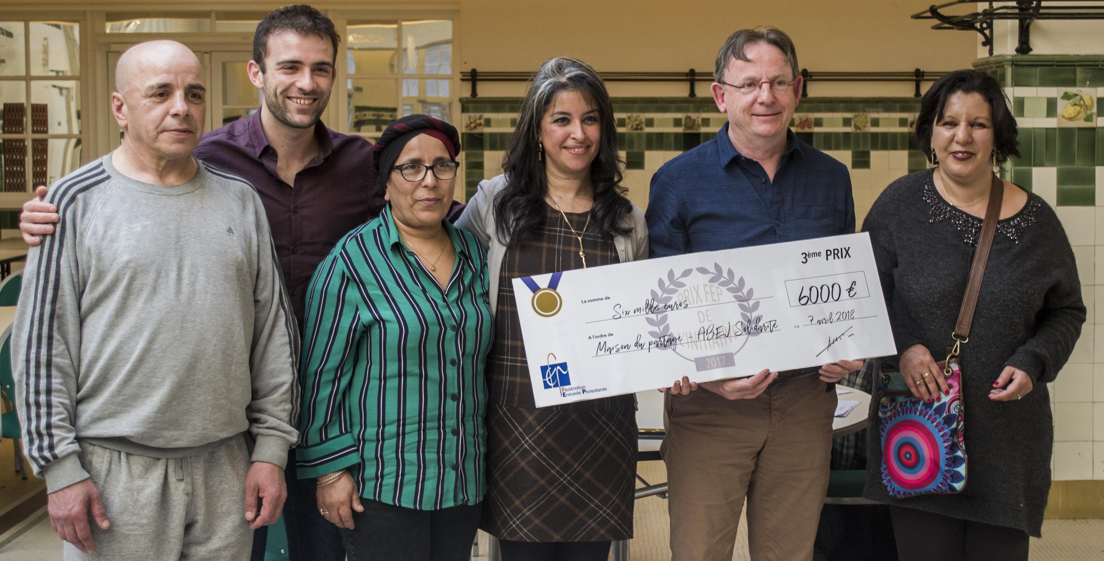 Prix de l'initiative 2017, 3ème prix pour la Maison du Partage