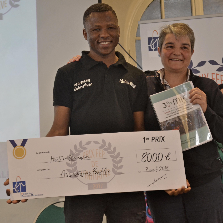 Prix de l'initiative 2017, 1er prix pour l'association 3aMIE
