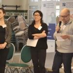 Antonia lair, Marc Savard, Elise Braouezec; étudiants DUIC